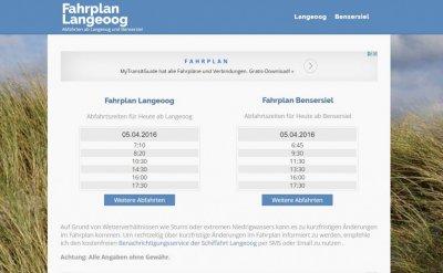 Fahrplan-Langeoog.de